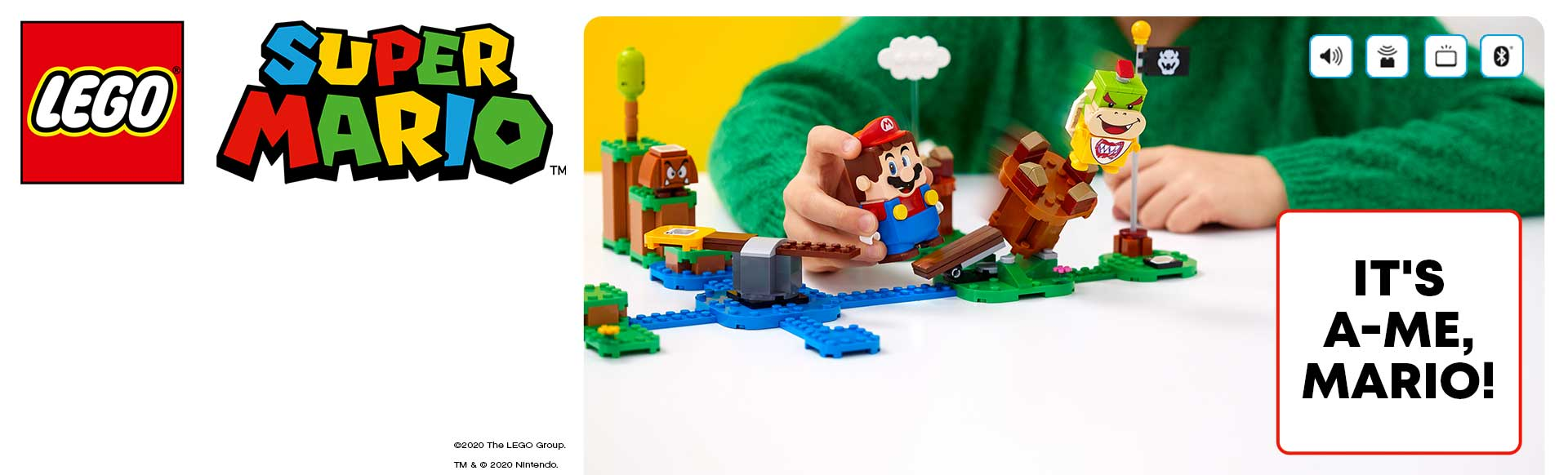 LEGO Super Mario novelty