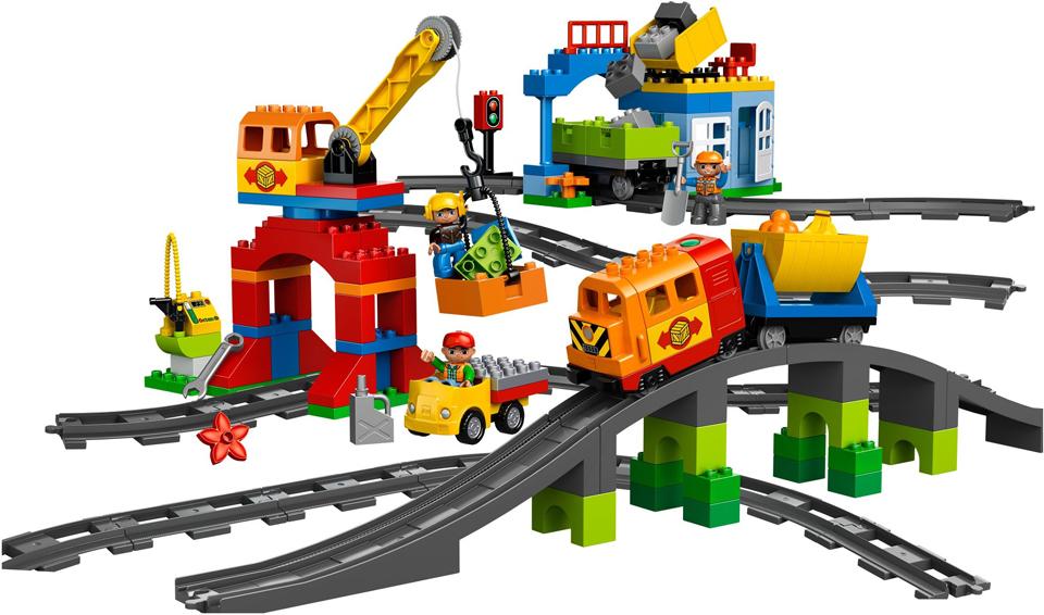 LEGO 10508 - LEGO® DUPLO Deluxe vasútkészlet