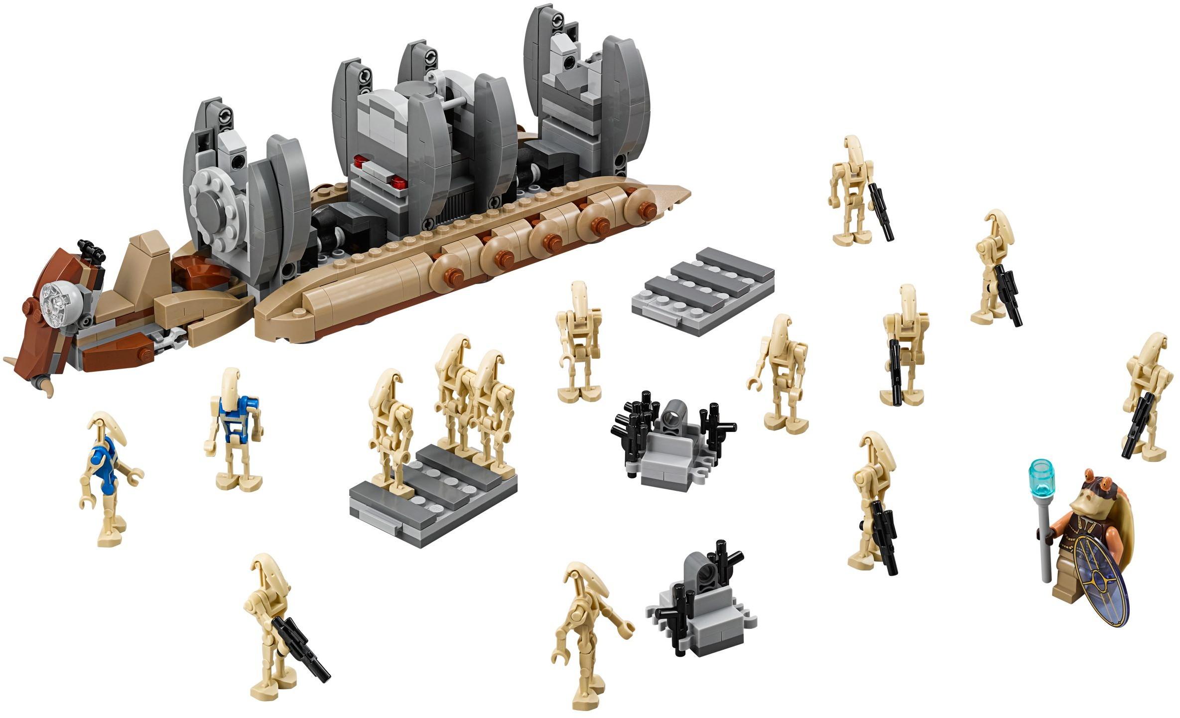 Lego 75086 lego star wars battle droid troop carrier - Lego star wars base droide ...