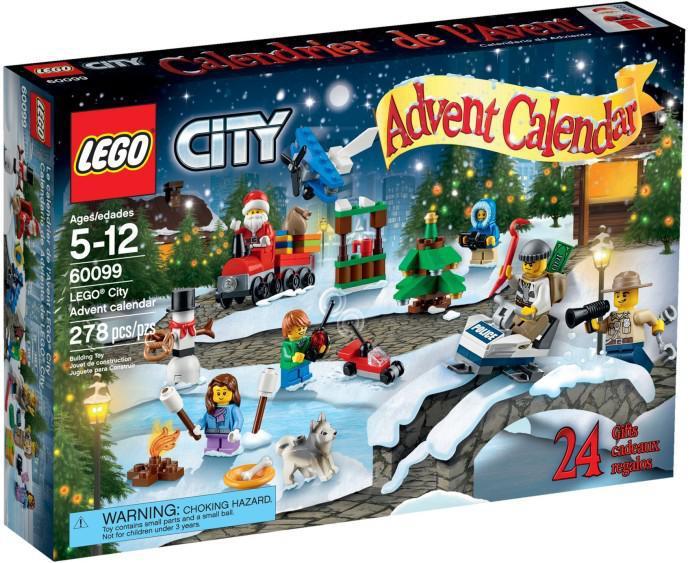 adventi naptár lego LEGO 60099   LEGO® City Adventi naptár 2015 adventi naptár lego