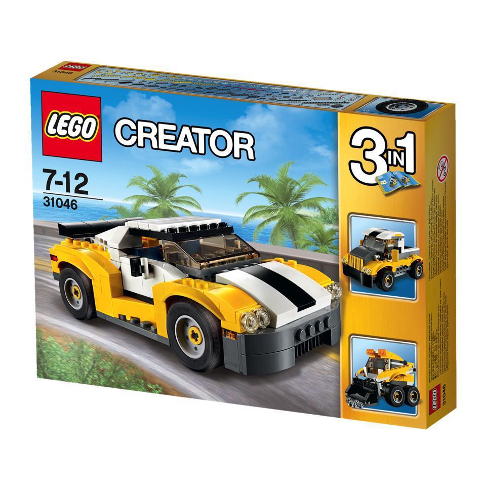 lego 31046 lego creator gyorsas gi aut. Black Bedroom Furniture Sets. Home Design Ideas