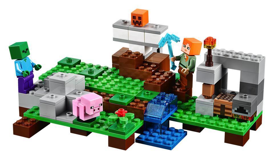 LEGO 21123 - LEGO Minecraft A vasgólem