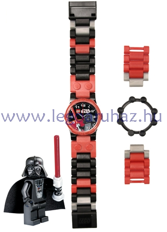 LEGO Kiegészítők - Óra - w005 - Star Wars Darth Vader karóra ... 8bc6e346ea