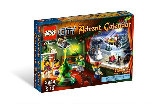 lego adventi naptár 2010 LEGO 2824   LEGO CITY Adventi naptár 2010   Advent Calendar lego adventi naptár 2010