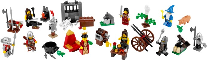 lego adventi naptár 2010 LEGO 7952   LEGO Kingdoms Adventi naptár 2010   Advent Calendar lego adventi naptár 2010