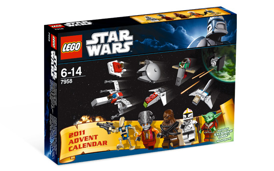 lego star wars adventi naptár 7958 LEGO 7958   LEGO Star Wars Adventi naptár 2011. lego star wars adventi naptár 7958