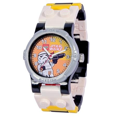 9002922 - LEGO Star Wars Stormtrooper karóra összerakható szíjjal és  minifigurával 5065c4ad13