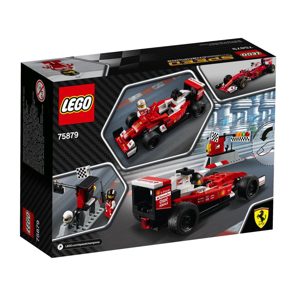 lego 75879 lego speed champions scuderia ferrari sf16 h. Black Bedroom Furniture Sets. Home Design Ideas