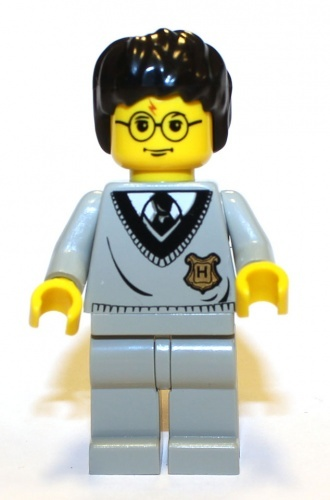 hp035a - LEGO Harry Potter Harry Potter minifigura Hogwarts egyenruhában