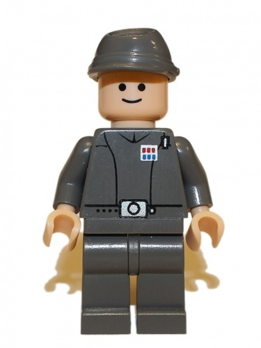 sw154 - LEGO Star Wars Imperial officer minifigura