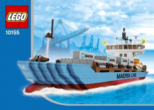10155 - LEGO Maersk Line Container Ship 2010 Edition