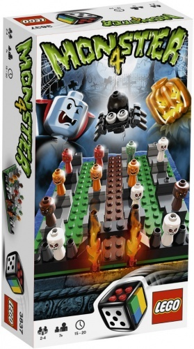 3837 - LEGO Monster 4 - 4 szörny