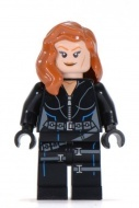 sh035 - LEGO Superheroes Black Widow minifigura