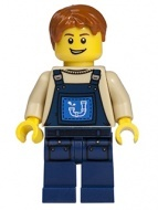 tlm052 - LEGO The LEGO Movie Alfie gyakornok minifigura