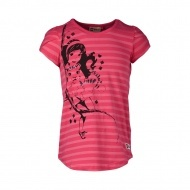 TANISHA307-458-128 - LEGO Wear Friends Tanisha 307 lány pink csíkos flitteres t-shirt 128-as méretben