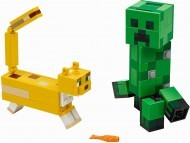 21156 - LEGO Minecraft™ BigFig Creeper™ és Ocelot