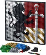 31201 - LEGO ART Harry Potter™ Hogwarts™ címerek