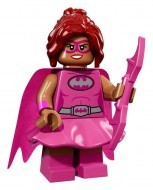 coltlbm-10 LEGO Minifigura The LEGO Batman Movie sorozat - Pink Power Batgirl™