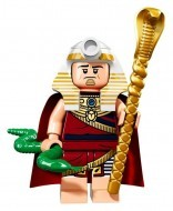 coltlbm-19 LEGO Minifigura The LEGO Batman Movie sorozat - King Tut™