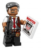 coltlbm-7 LEGO Minifigura The LEGO Batman Movie sorozat - Commissioner Gordon™