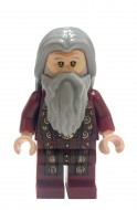 hp147 - LEGO Harry Potter minifigura - Albus Dumbledore