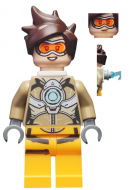 ow001 - LEGO Overwatch Tracer minifigura