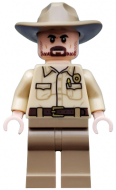 st007 - LEGO Stranger Things Chief Jim Hopper minifigura