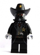 tlm023 - LEGO The LEGO Movie Sheriff Not-a-robot minifigura