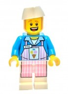 tlm031 - LEGO The LEGO Movie Ice Cream Mike minifigura