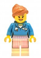 tlm032 - LEGO The LEGO Movie Ice Cream Jo minifigura
