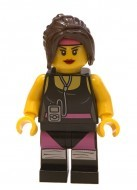 tlm033 - LEGO The LEGO Movie Cardio Carrie minifigura