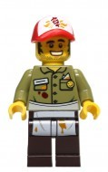 tlm035 - LEGO The LEGO Movie Kebab Bob minifigura